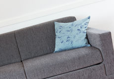 Shot of a modern couch. In a living room Stock Image