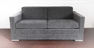 Shot of a modern couch. In a living room Royalty Free Stock Photography