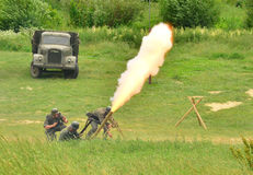 Shot mortar Royalty Free Stock Photography