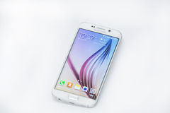Shot of New Samsung S6 Edge Stock Images