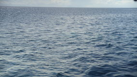 A shot of ocean`s waters stock footage