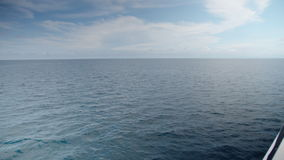 A shot of the ocean`s waters stock footage