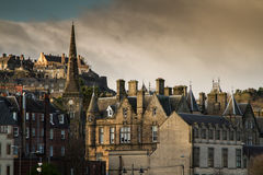 Stirling Town Center. Shot of old Stirling town Center in Scotland Royalty Free Stock Photography