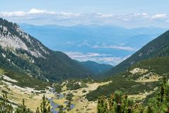 Pirin Mountain. This is shot in Pirin Mountain - Bulgaria Royalty Free Stock Photo