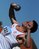 Shot put Royalty Free Stock Photography