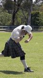 Shot Putter. Scottish Highland Games - Shot Putter Stock Photos