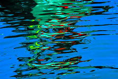 Shot of reflect water Royalty Free Stock Photos