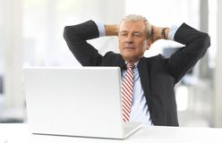 Man in the office Royalty Free Stock Photo