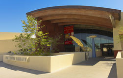 A Shot of the Scottsdale Civic Center Library Royalty Free Stock Photo