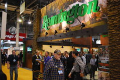 SHOT Show Las Vegas. SHOT (Shooting, Hunting and Outdoor Trade) Show in Las Vegas, Nevada, USA stock photography