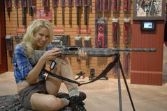 SHOT Show Las Vegas. SHOT (Shooting, Hunting and Outdoor Trade) Show in Las Vegas, Nevada, USA stock photos