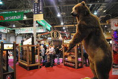 SHOT Show Las Vegas. SHOT (Shooting, Hunting and Outdoor Trade) Show in Las Vegas, Nevada, USA royalty free stock photos
