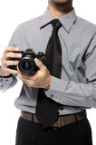 Shot With SLR Camera Stock Photos