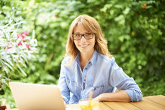 Manage my business from home Royalty Free Stock Photo