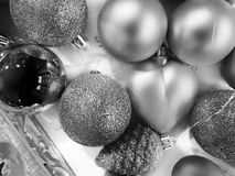 Shot of some Christmas decorations stock image