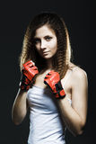 Shot of a sporty young woman Stock Photo