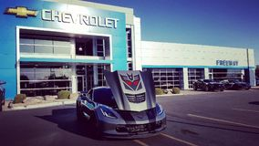 Megatron Z06...How much more Chevrolet can you get? Royalty Free Stock Images