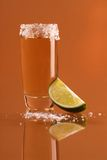 Shot of tequila Stock Images