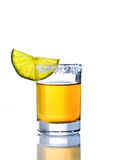 Shot of tequila Royalty Free Stock Image