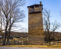 Shot Tower. State Park on the New River near Austinville, Virginia Stock Photo