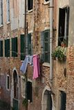 Saturday is laundry day in venice Stock Photography
