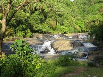 Philippine Waterfalls royalty free stock photography