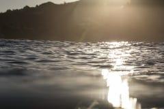 Sea Level Lens Flare Royalty Free Stock Photos