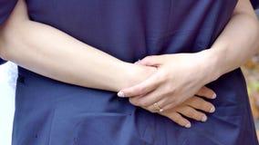 Shot of wedding or engagement ring. Closeup shot of wedding or engagement ring stock video footage