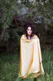 Shot of a witch woman Royalty Free Stock Image