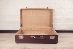 Shot Of Worn Old Suitcase Royalty Free Stock Photography