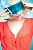 Shot of young fashionable girl. Stock Photography