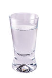 Shotglass of vodka Royalty Free Stock Images