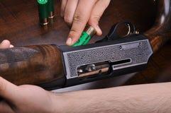 Shotgun. My detailed images of shotgun Royalty Free Stock Photography