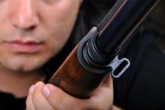 Shotgun. My detailed images of shotgun Stock Images