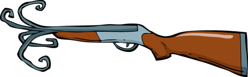 Shotgun Royalty Free Stock Image