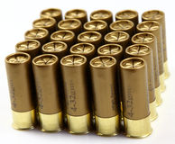 Shotgun cartridges Stock Photography