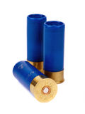 Shotgun cartriges 12 caliber Stock Images