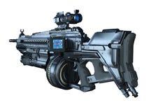 Shotgun. 3D CG rendering of a shotgun Stock Photography