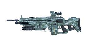 Shotgun. 3D CG rendering of a shotgun Stock Photos