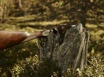 Shotgun and guksi Stock Images