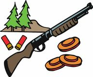 Shotgun Hunting Stock Images