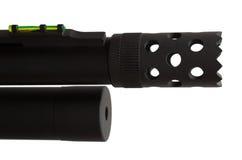 Shotgun muzzle Royalty Free Stock Photography