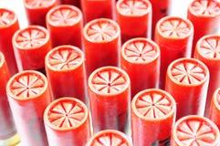 Shotgun Shells. Group of shotgun shells isolated on white Royalty Free Stock Image