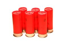 Shotgun shells Royalty Free Stock Photo