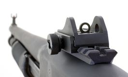 Shotgun sights Stock Photo