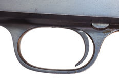 Shotgun trigger Stock Photography