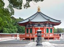 Shotoku霍尔王子Shinsho寺庙的,成田,日本 免版税库存照片