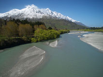 Shotover-Fluss stockbild