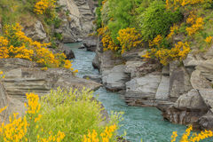 Shotover River Gorge Stock Photo
