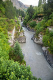 Shotover River in New Zealand Stock Photography